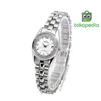 Jam tangan Mirage Wanita Original RX 1580 L SIlver pP