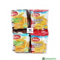 Roma Malkist Crackers / Abon Gurih isi 10 pcs Biskuit