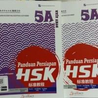buku panduan HSK 5 A kumpulan soal lengkap mandarin best seller terba