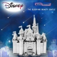 Puzzle 3D Metal Arsitektur The Sleeping Beauty Castle