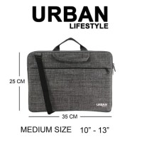 Tas Laptop Netbook Tablet Macbook Ipad 10 11 12 13 Inch Pouch URBAN M