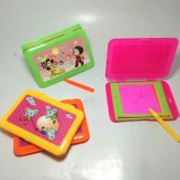 papan tulis mini alat atk mainan anak edukatif