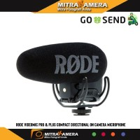 Rode Videomic Pro & Plus Compact Directional On Camera Microphone