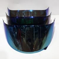 kaca helm flat iridium blue warna biru pnp kyt r10 kyt rc7 kyt k2r