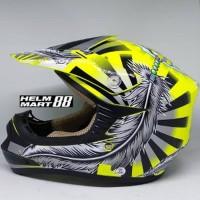 Snail Helm Motocross Junior Kid Helm Cross Anak 306 Small Size FE