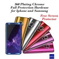 360 Mirror Chrome Case Xiaomi Redmi Note 5 Pro Hardcase Cover