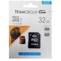 TEAM Micro SD Card 32gb 80MBps Class 10 + Adapter - Garansi Resmi