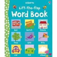 Usborne lift the flap word book buku import anaks