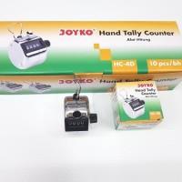 Tasbih Zikir Alat Hitung Hand Tally Counter Joyko HC 4 Stainless