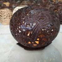 Lampion motif naga