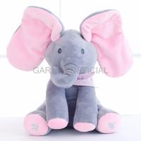 Boneka Wisuda Lucu Lovelygubuk Peek a boo Elephant Gajah peek a boo G
