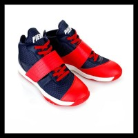 Exclusive Sepatu Basket Atau Voli Piero Onimaru Red/Navy/White