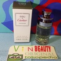 Travel Spray Parfum OriginaL Cartier Concentree 15 ml EDT For Men Mura