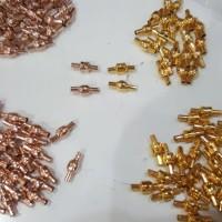 kunci pandora/ kunci gelang charm /pengait pandora/pengait charm emas
