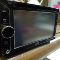 Audio mobil Headunit Doubledin JVC Kenwood KW-V10H Bekas normal