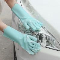 Silicone Dishwashing Gloves Magic glove Sarung tangan cuci piring