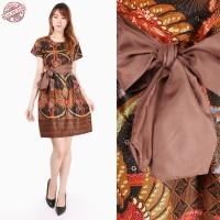 Dress Midi Batik Sarta Short Dress Wanita