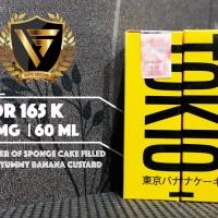 E LIQUID VAPOR VAPE - TOKIO BANANA BY DJUREKZ 3MG / 60ML