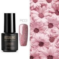 Rosalind glitter nail gel polish / kutek glitter bahan gel