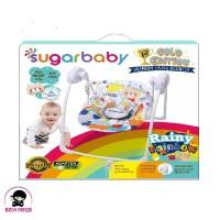 SUGAR BABY Premium Swing Bouncer Rainy Rainbow - SWG30001