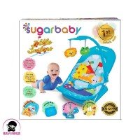 SUGAR BABY Infant Seat with Toy Little Sailors Blue - INF30003