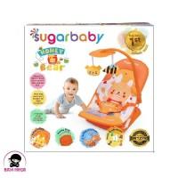 SUGAR BABY Infant Seat with Toy Honey Bear Orange - INF30004