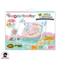 SUGAR BABY Premium Swing Bouncer Pinky Summer - SWG30003