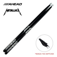 Stick Drum Metallica AHEAD BONUS Tas Softcase Stik Drum STKD-17