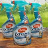 simple solution CAT extreme stain odor remover / penghilang bau kucing