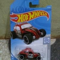 Hotwheels Volkwagon Beetle merah