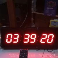 Jam Dinding Digital 4819 Remote Angka Besar