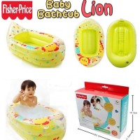 bak mandi bayi karet fisher price / baby bath tub portable balon
