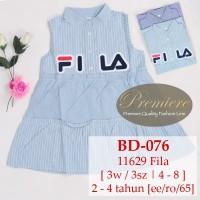 Baju Anak Dress Fila BD076 BD077