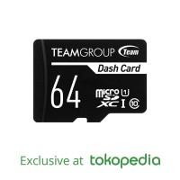 TEAMGROUP Dash Card - Memory Card MicroSD UHS- 64GB + Adapter