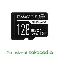 TEAMGROUP Dash Card- Memory Card MicroSD UHS- 128GB + Adapter