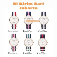 Jam Tangan Fashion Kanvas Geneva DW