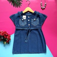 dress baju anak perempuan oskosh soft jeans atau denim