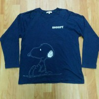 long sleeve t-shirt kaos Peanut not stussy dickies uniqlo gap champion