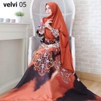 BD19 VELVI SYARI 9 Pilihan ( dapat jilbab )