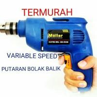 Mesin Bor Tangan Listrik 10mm Mollar Electric Drill Variable Speed BB