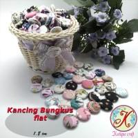 Kancing Bungkus Flat 1,8cm Motif per 100 pcs