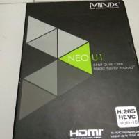 Minix Neo U1 Android TV Box Quad Core RAM 2GB Internal 16GB 64 Murah