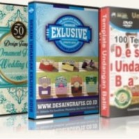 Promo Paket Desain Undangan Super Lengkap 14 DVD Elegan
