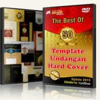 Banjir Bonus Koleksi 50 Template Desain Undangan Hard Cover (1 DVD)