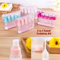 AL Botol Travel Toiletries Kit Set Isi 5
