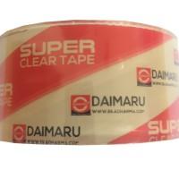 Lakban DAIMARU Super Clear SATUAN 48 mm x 50 meter Lakban Clear Tape