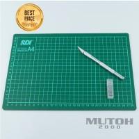 Cutting Mat SDI A4 + Cutter Pen Import