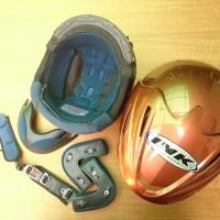 Busa helm ink CX 22 FULLSET plus KUNCI