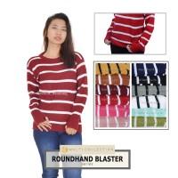 Roundhand blaster | swater roundhand | sweater rajut | baju rajut