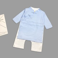 Cheongsam baby boy china traditional lunar new year chinese clothes